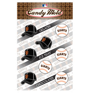 MLB Candy Mold - San Franscisco Giants
