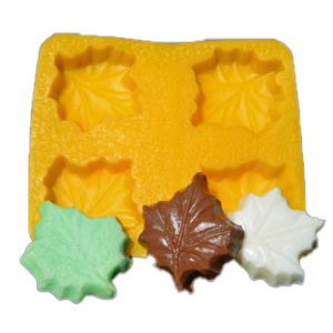 Maple Leaf Flexible Rubber Candy Mold