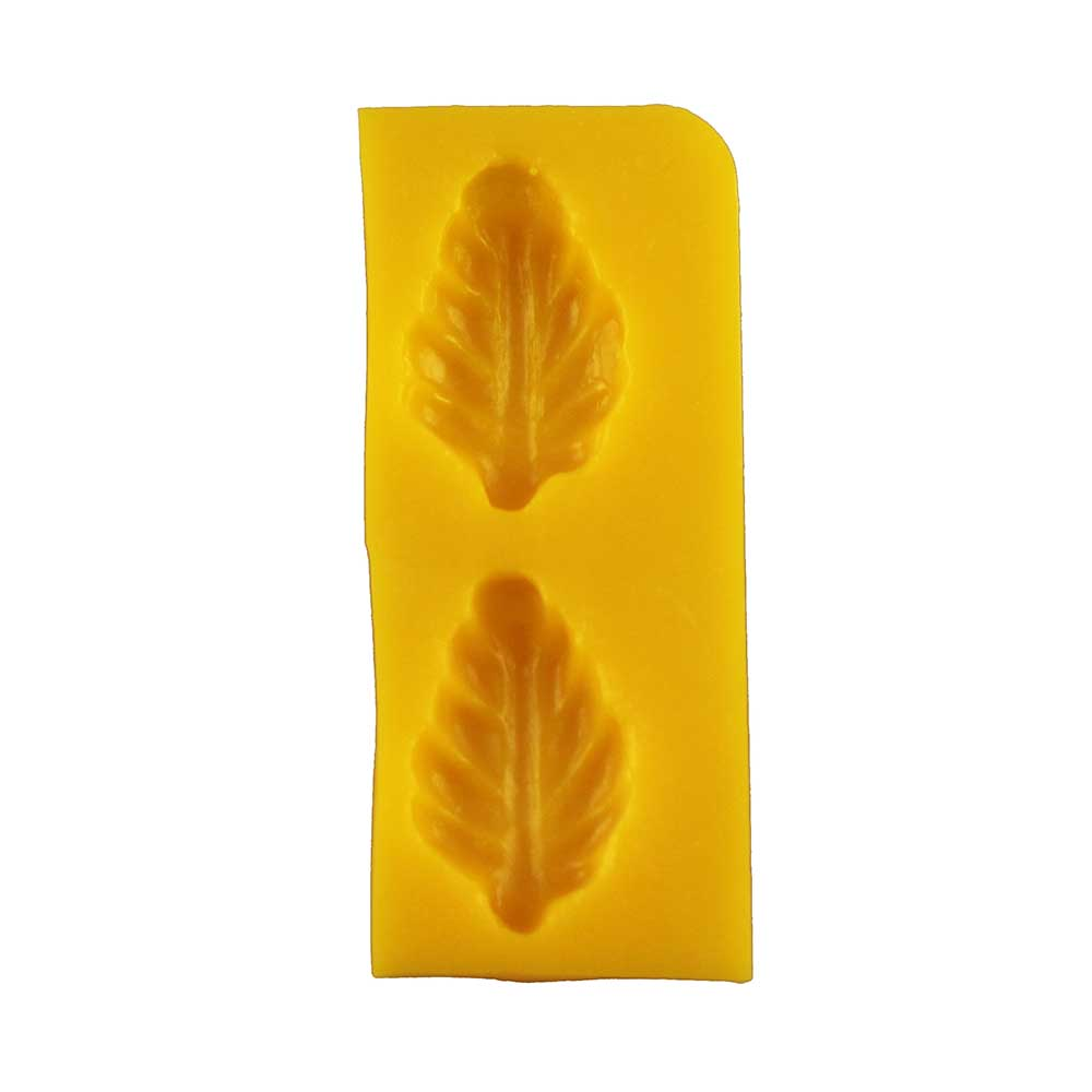 Leaf Flexible Rubber Candy Mold