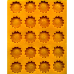 Daisy Flexible Rubber Candy Mold