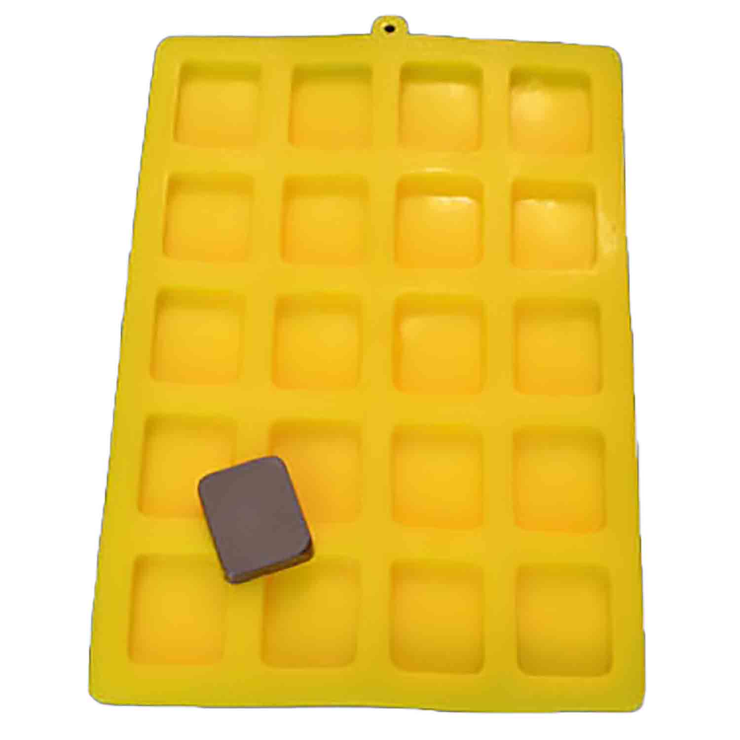 Rectangle Flexible Rubber Candy Mold