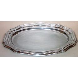 Plastic Silver Tray