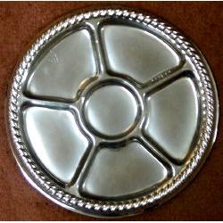 Plastic Tray-Silver-16