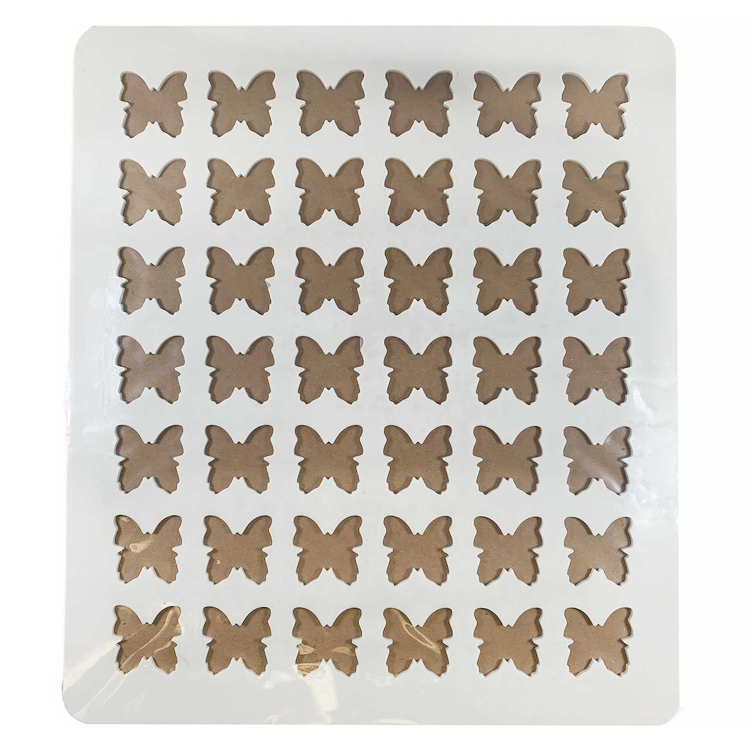 Chablon Silicone Chocolate Template- Butterfly