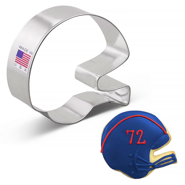 Football Helmet Cookie Cutter