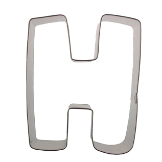 Letter H Cookie Cutter