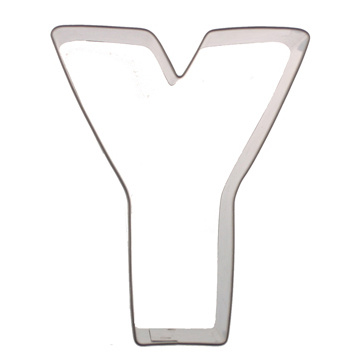 Letter Y Cookie Cutter