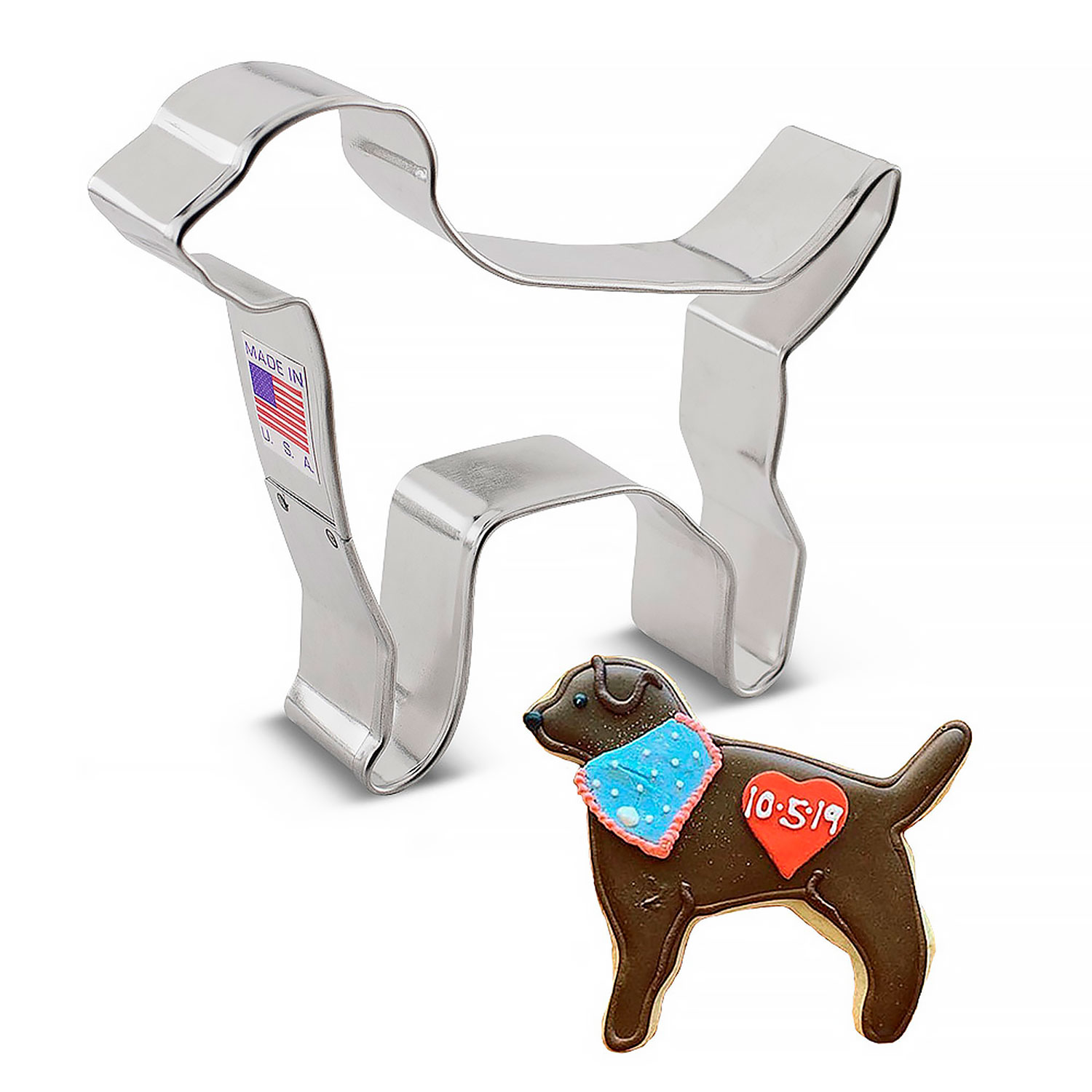 Black Lab Cookie Cutter