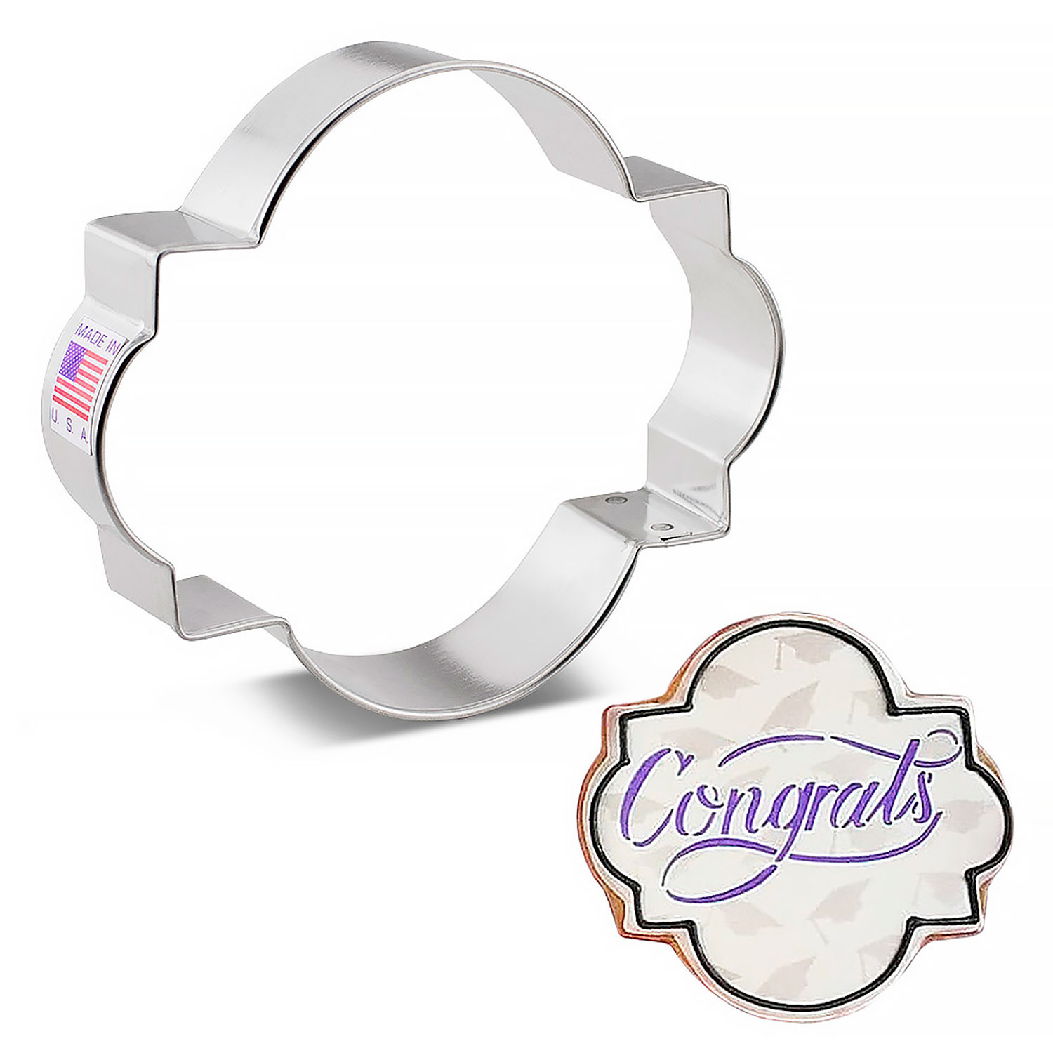 Photo Plaque Cookie Cutter