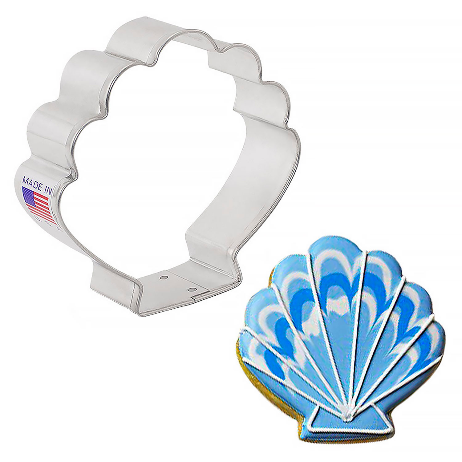 Shell Cookie Cutter Acc 8024 Country Kitchen Sweetart