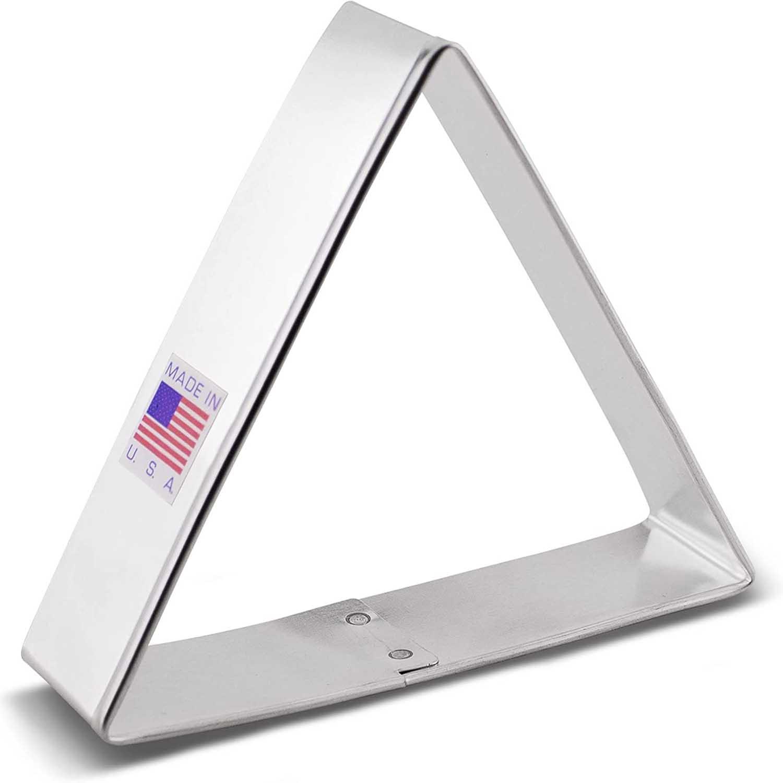"""4"""" Triangle Cookie Cutter"""
