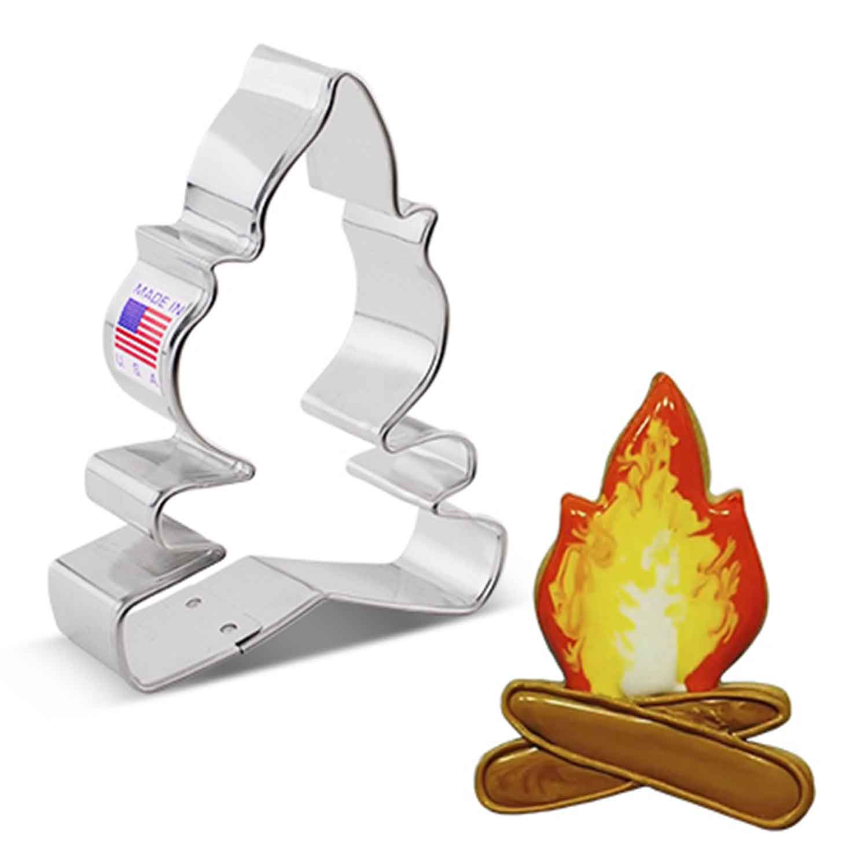 Campfire Cookie Cutter