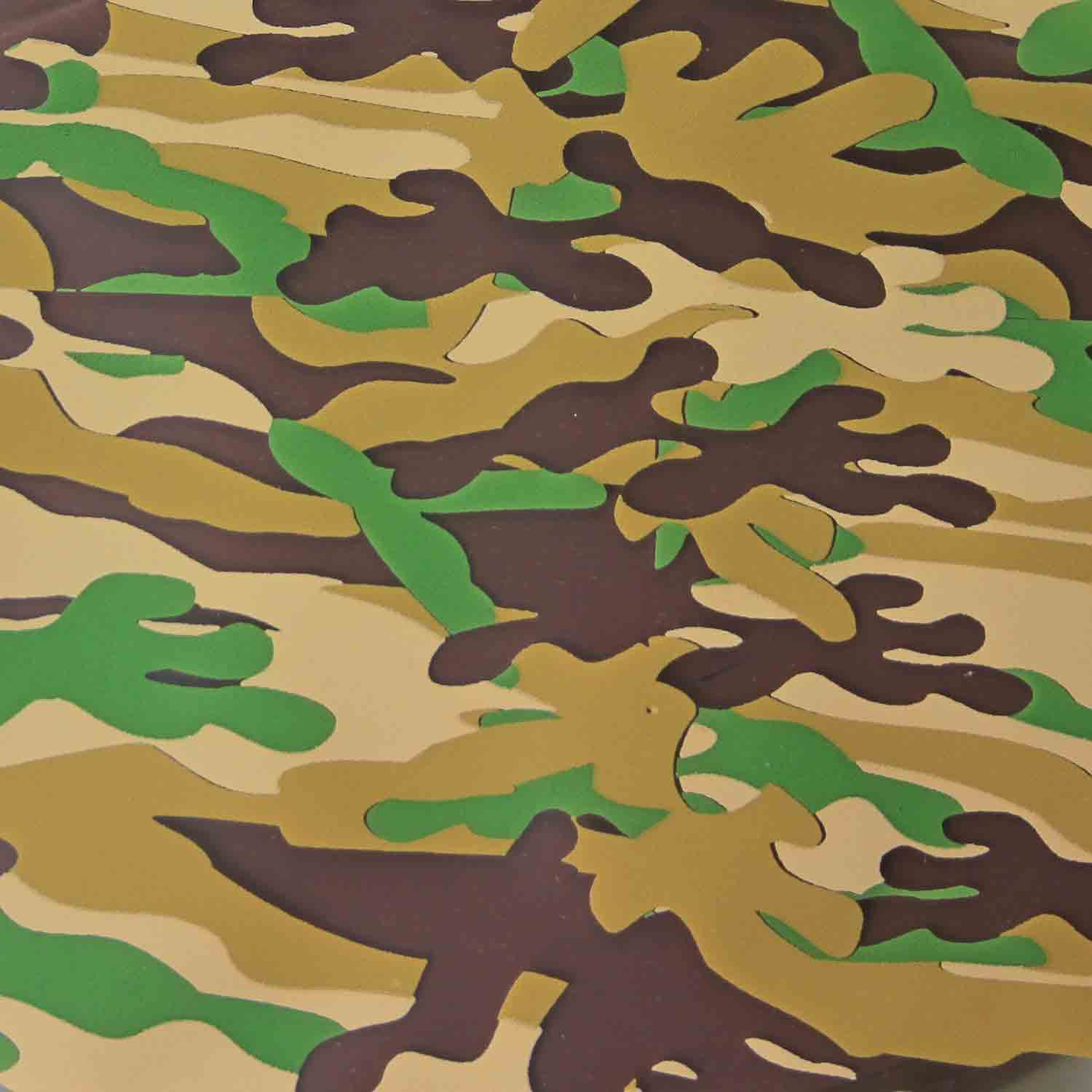 Chocolate Transfer Sheet - Camo