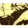 Chocolate Transfer Sheet - Dark Brown Marble