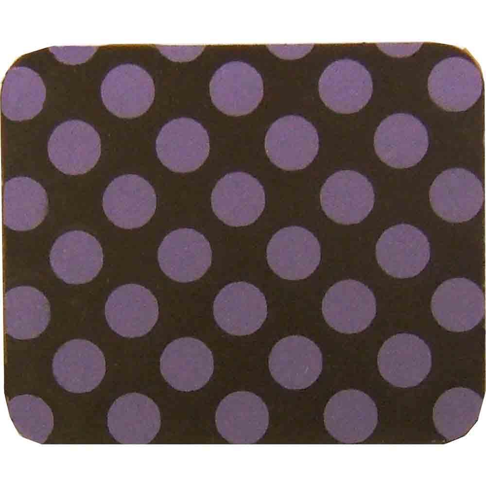 Chocolate Transfer Sheet - Purple Dots