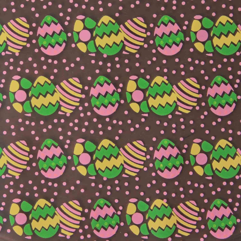 Chocolate Transfer Sheet - Easter Egg