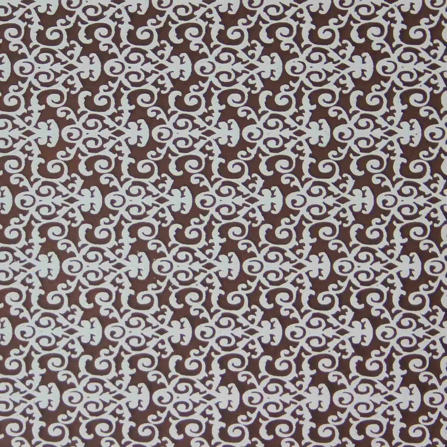Chocolate Transfer Sheet - White Florentine