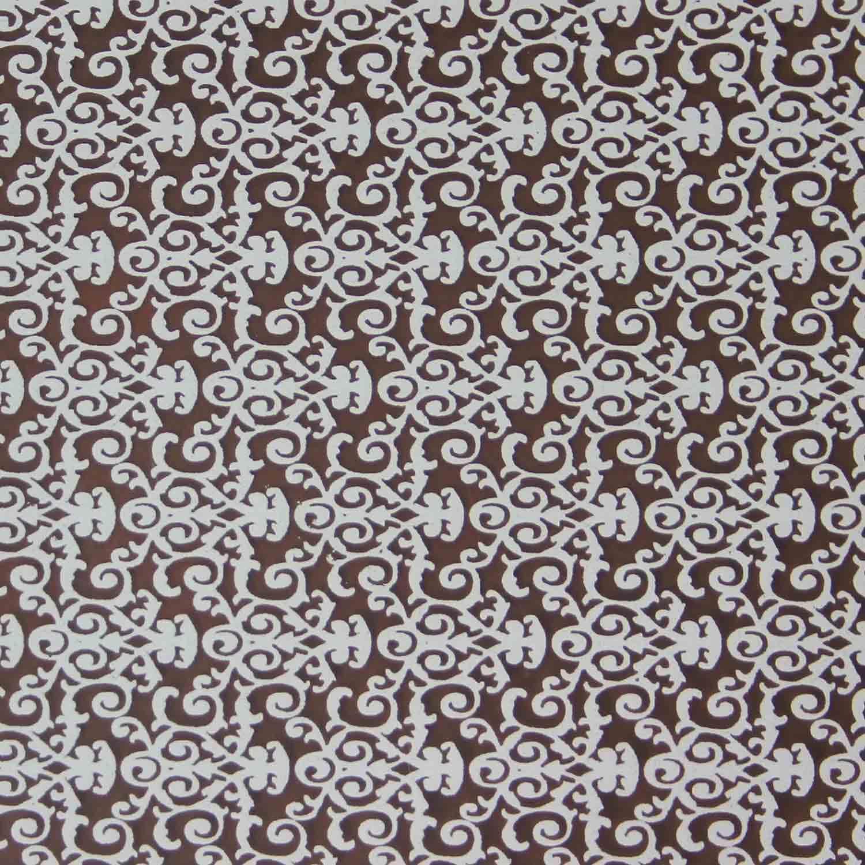 Chocolate Transfer Sheet - White Florentine