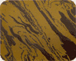 Chocolate Transfer Sheet - Gold Marble