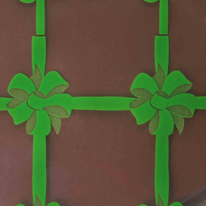 Chocolate Transfer Sheet - Gift Worthy Green