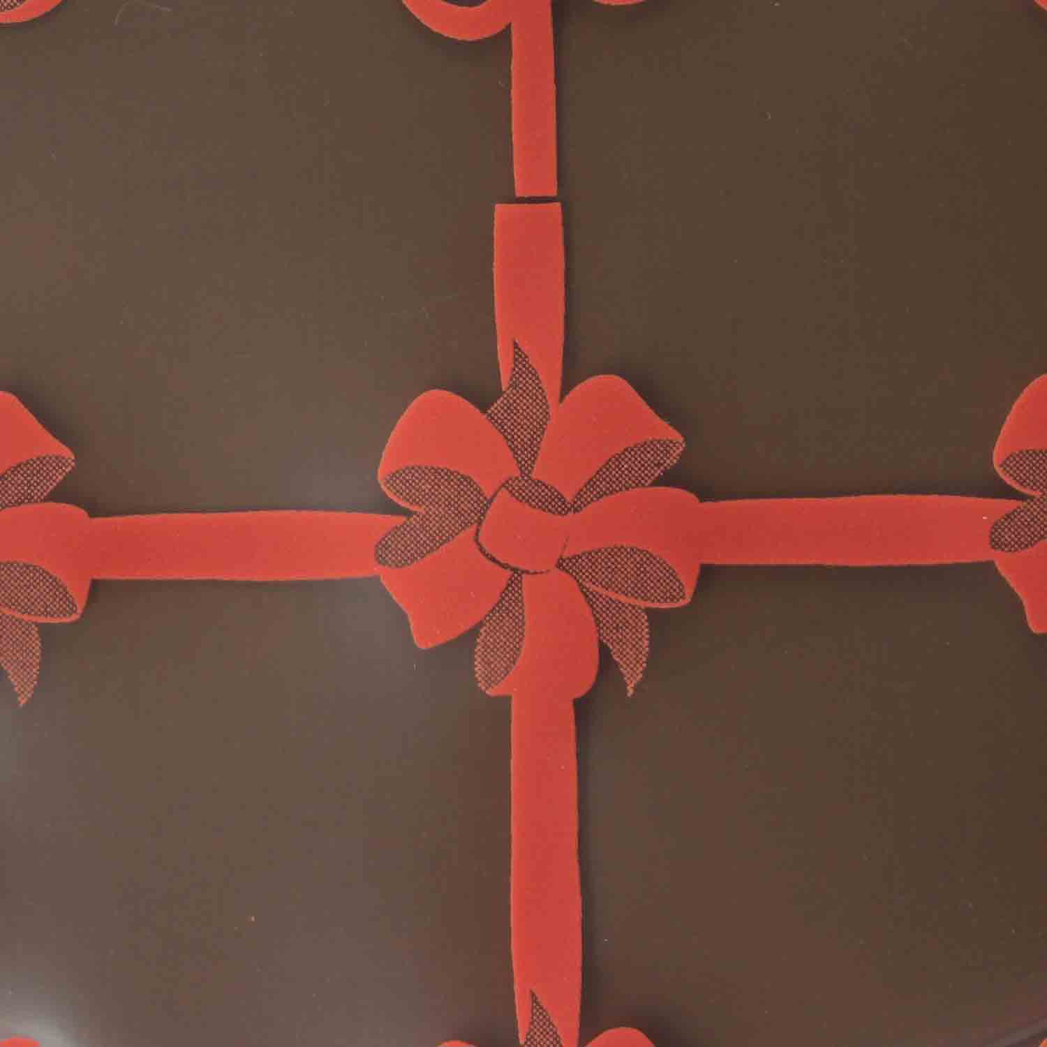 Chocolate Transfer Sheet - Gift Worthy Red