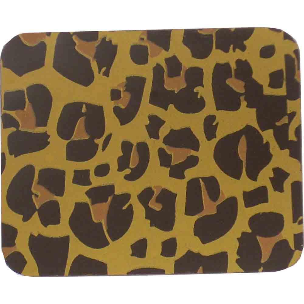 Chocolate Transfer Sheet - Leopard (Gld & Tan)