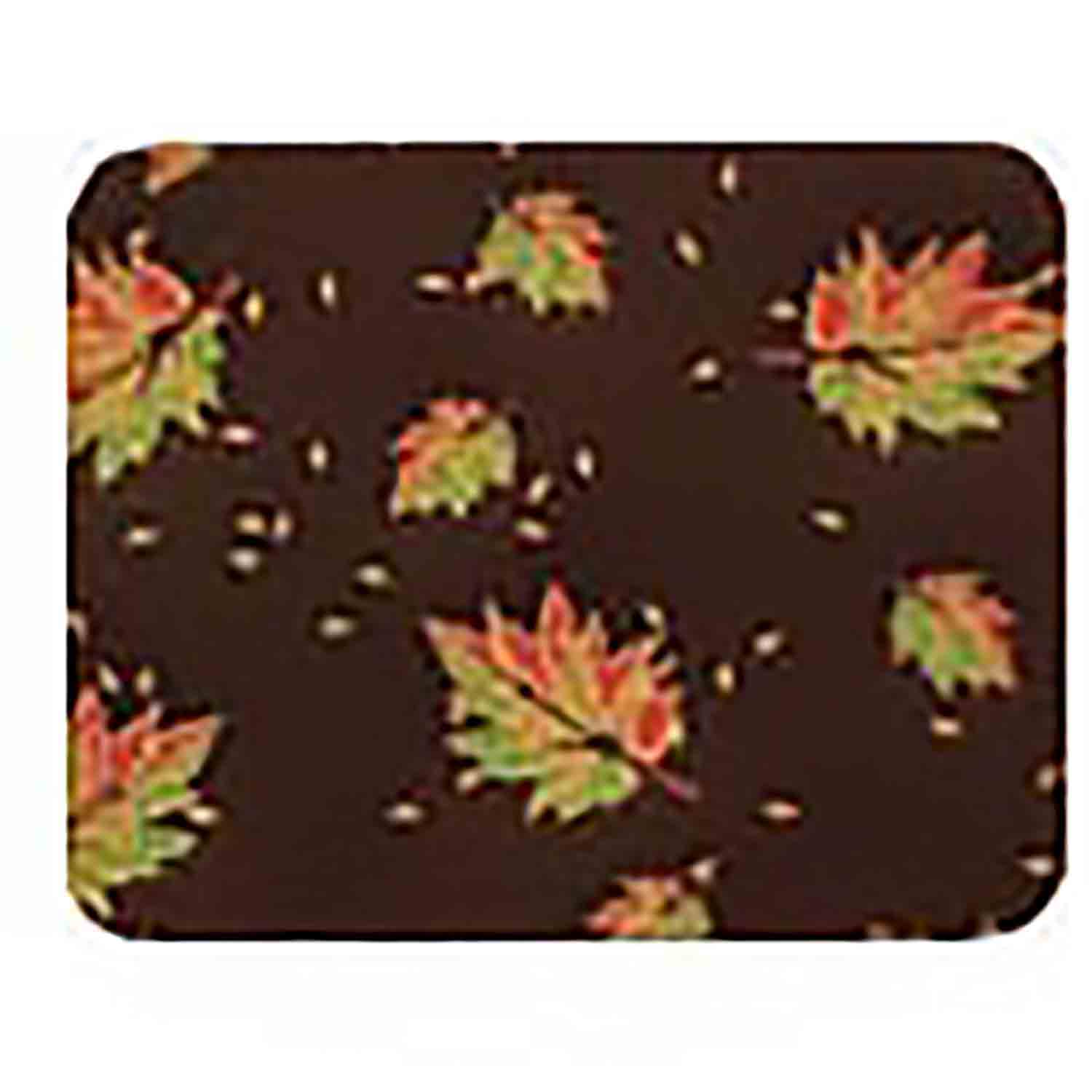 Chocolate Transfer Sheet - Autumn Leaves
