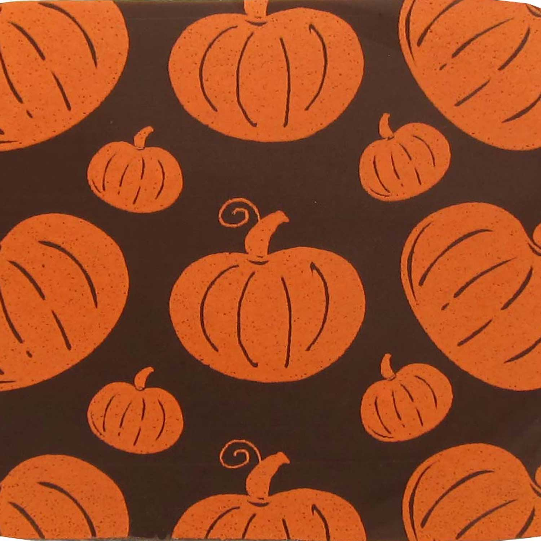 Chocolate Transfer Sheet - Pumpkin Orange