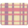 Chocolate Transfer Sheet - Pink and Purple Plaid