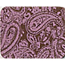 Chocolate Transfer Sheet - Paisley Pink