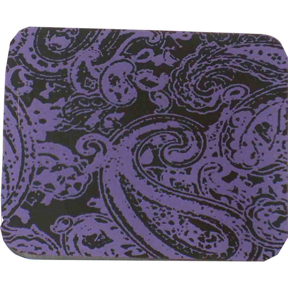 Chocolate Transfer Sheet - Paisley Purple