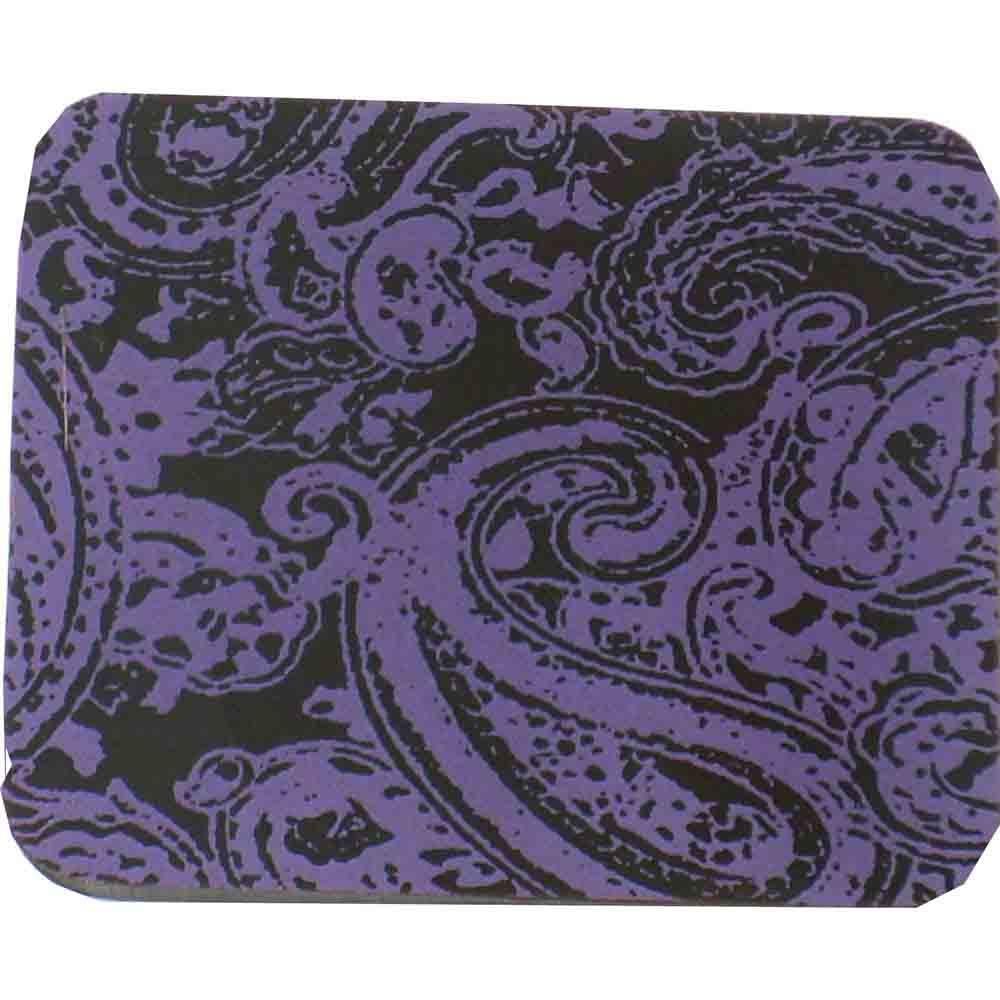 Chocolate Transfer Sheet - Paisley Purple