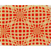 Chocolate Transfer Sheet - Red Elliptic