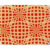 Chocolate Transfer Sheet - Red Elliptic