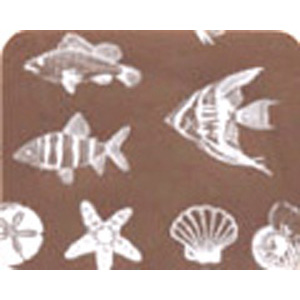 Chocolate Transfer Sheet - Sea Life