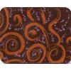 Chocolate Transfer Sheet - Orange Pink Swirl