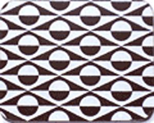 Chocolate Transfer Sheet - Spherical White