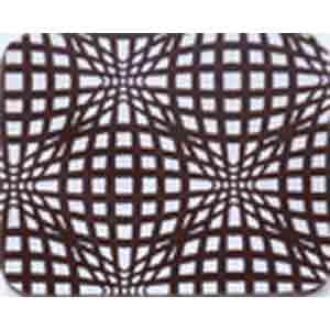 Chocolate Transfer Sheet - White Elliptic