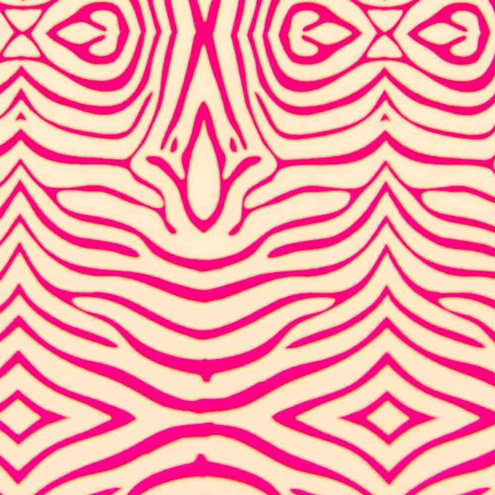 Chocolate Transfer Sheet - Raspberry Zebra