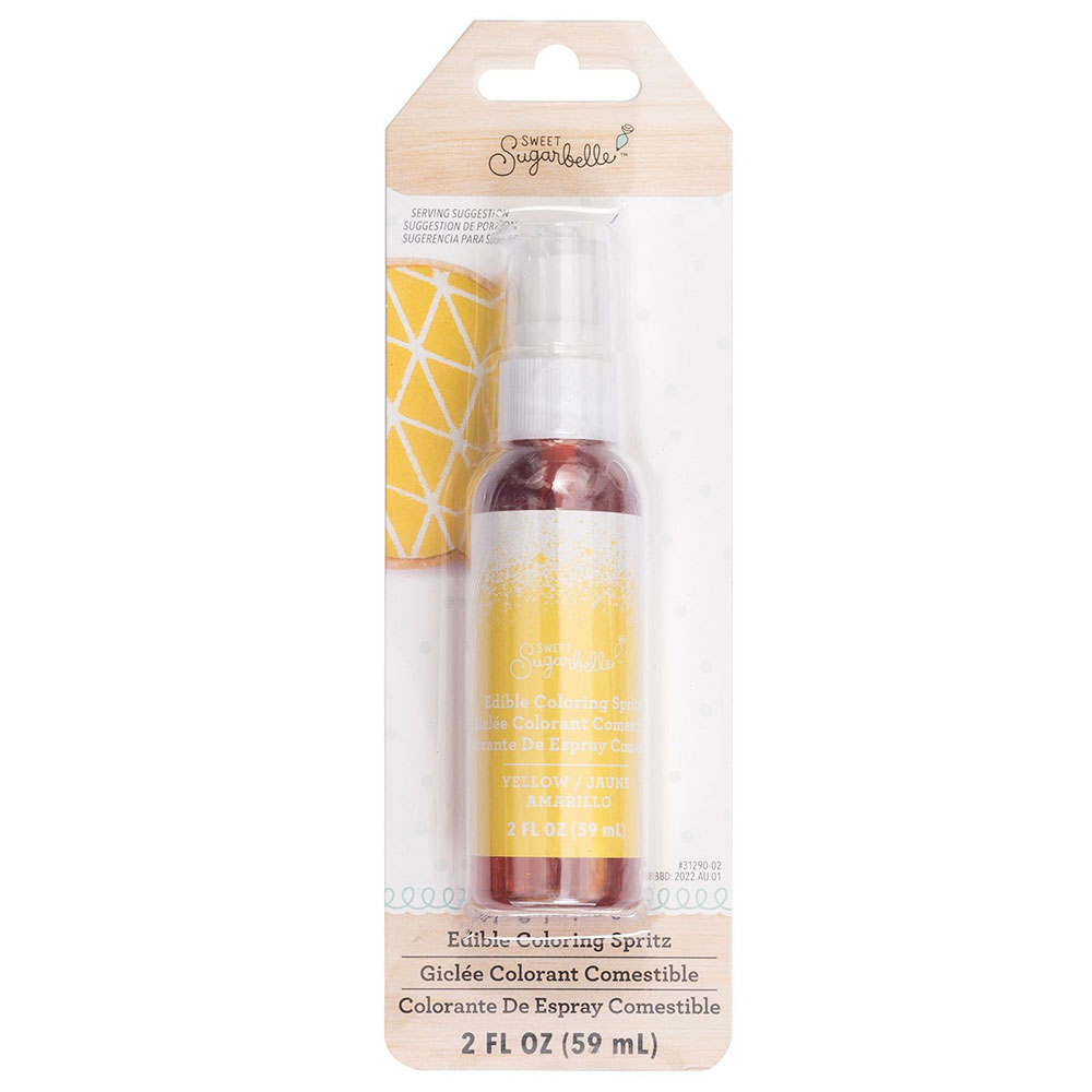 Yellow Edible Coloring Spritz