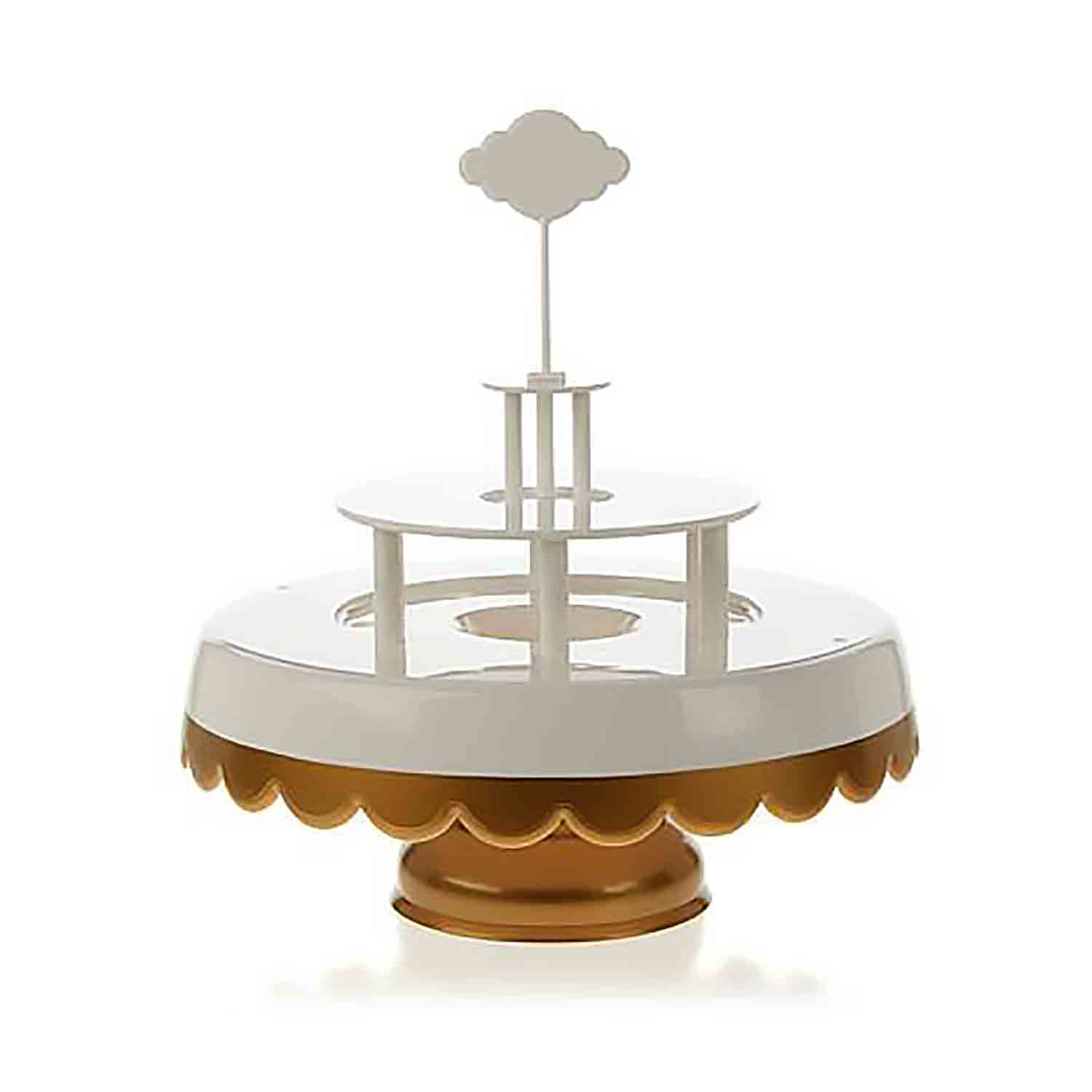 Magic Sweet Cake Stand Set - Gold