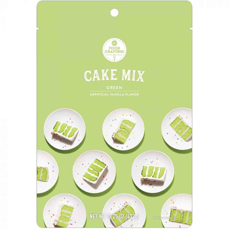 Green Cake Mix