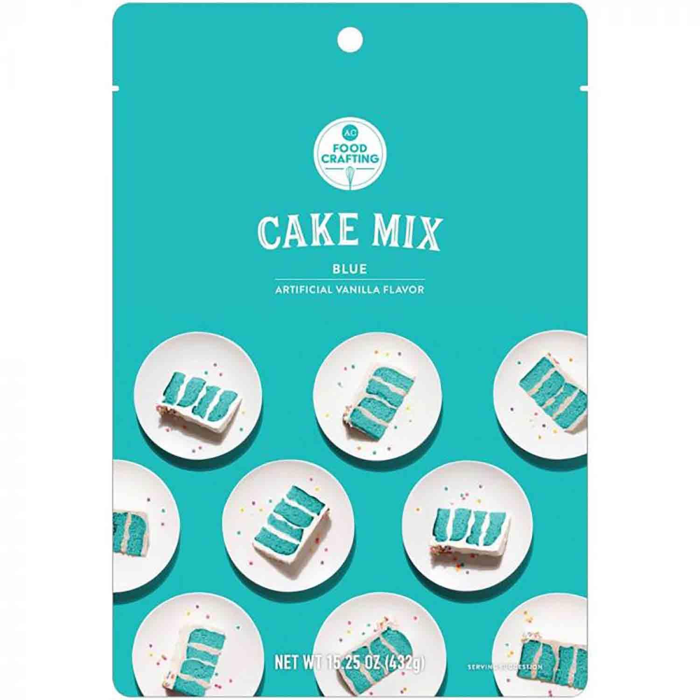 Blue Cake Mix