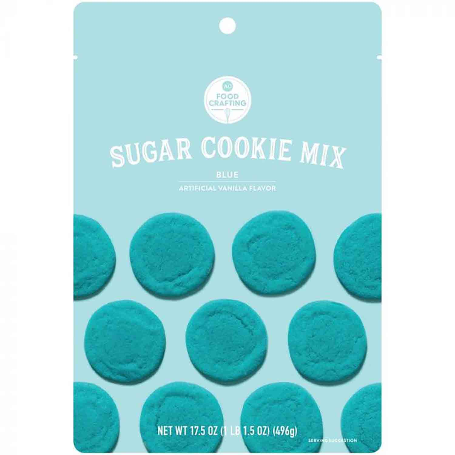 Blue Sugar Cookie Mix