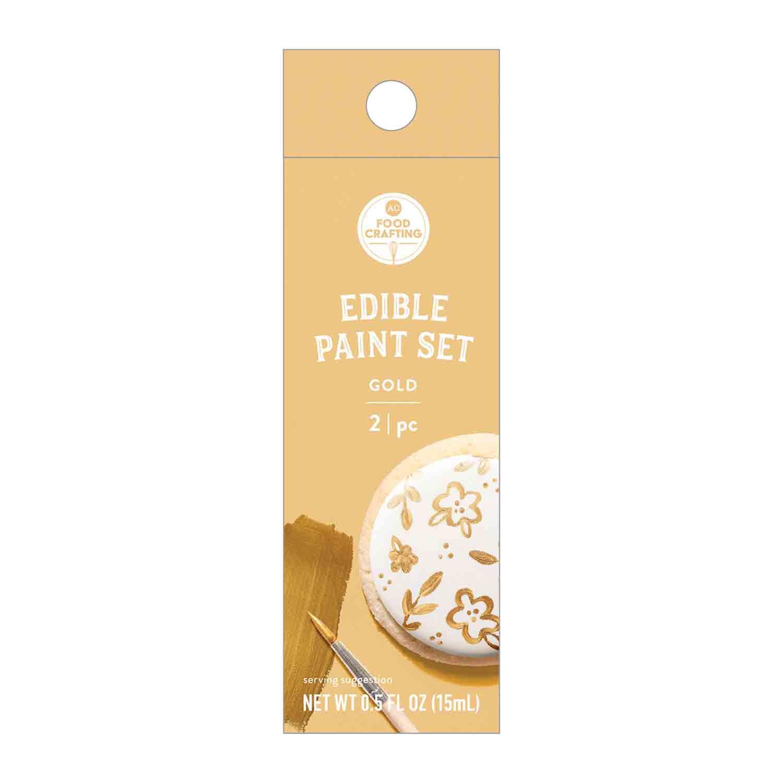 Gold Edible Paint