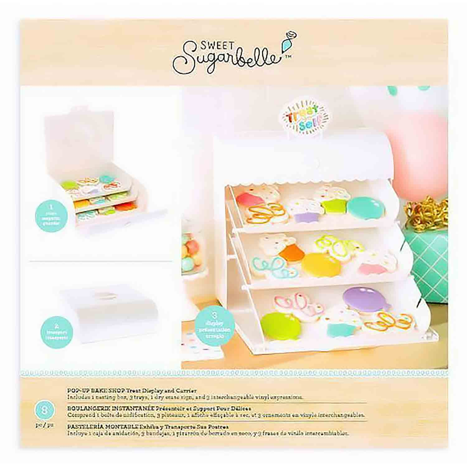 Pop-Up Bake Shop Treat Display and Carrier