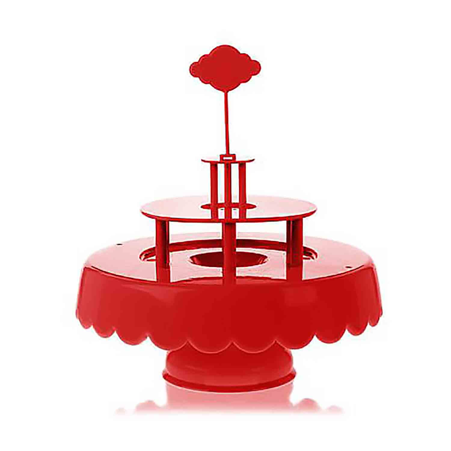 Magic Sweet Cake Stand Set - Red