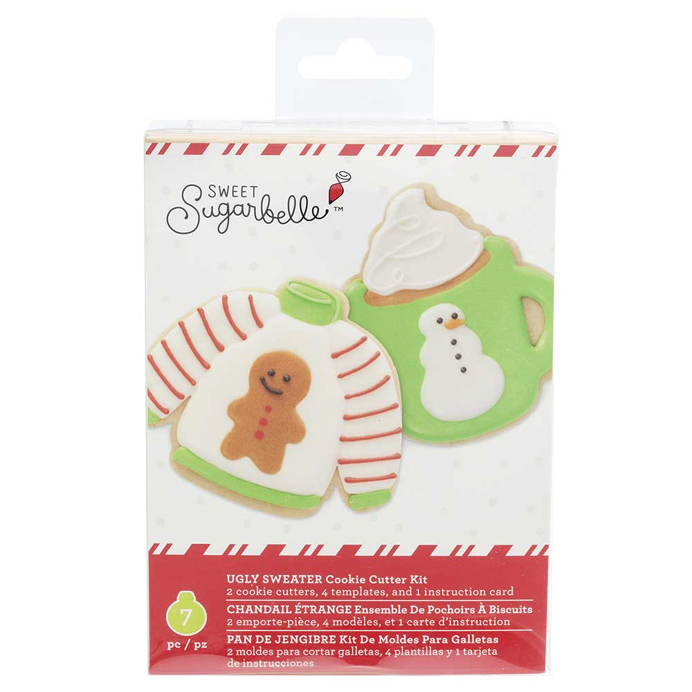 Ugly Sweater Cookie Cutter Set by Sweet Sugarbelle