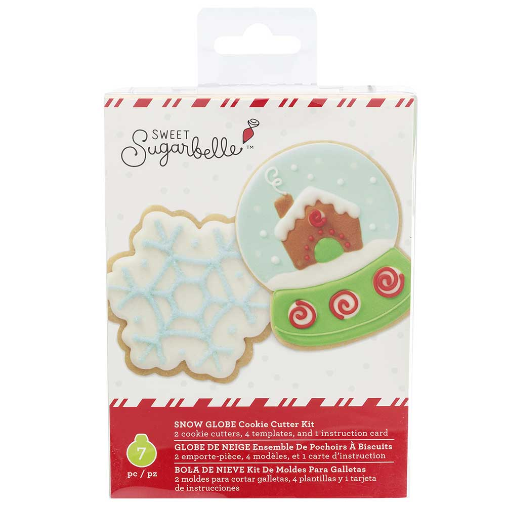 Snow Globe Cookie Cutter Set by Sweet Sugarbelle