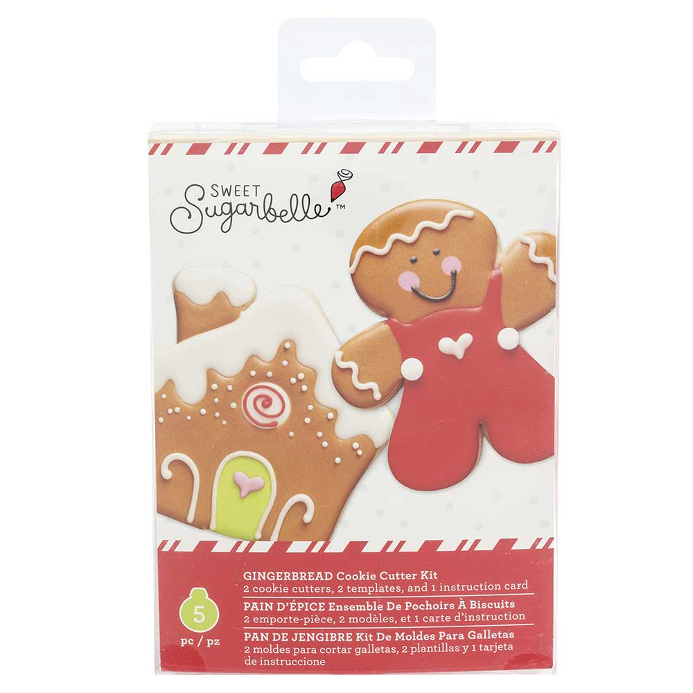 Gingerbread Cookie Cutter Set by Sweet Sugarbelle